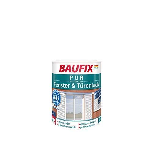 BAUFIX PUR Fenster- und Türenlack Weiß Seidenmatt