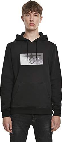 Mister Tee Ballin Sweatshirt Kapuzenpullover Hoodie Sweater | Langarm Rundhals Aufdruck | Damen Herren | Gr. L