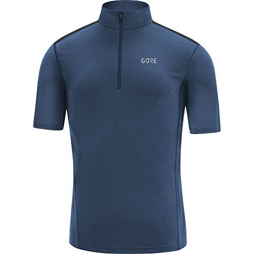 GORE WEAR Herren R5 Kurzarm Laufshirt, Deep water blue, M