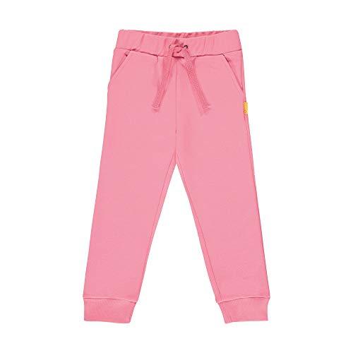Steiff Mädchen Jogginghose Hose, Rosa (Pink Carnation 3019), 92 (Herstellergröße: 092)