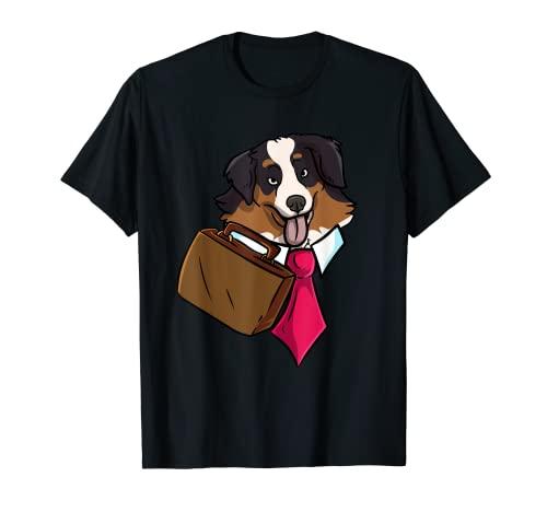 Business Australian Shepherd Dog Lover Emprendedor CEO Camiseta