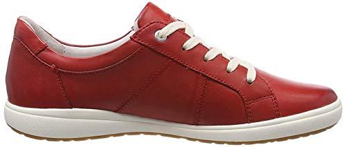 Josef Seibel Damen Caren 01 Sneaker, Rot (Rot 400), 40 EU
