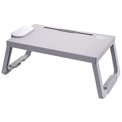 Zyj Multifunktionale faltender Speicher-Computer-Schreibtisch Schule Schlafzimmer Bett Faule Laptop-Tisch Kinder Schreibtisch (Color : A)