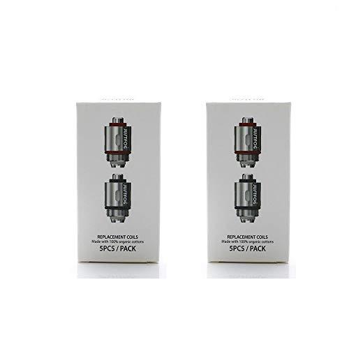 Authentique Justfog Q16, Q14, C14, G14, S14 Resistance 1,6 Ohm 2 Paquets 100% Coton Organique Resistance Sans Tabac Ni Nicotine Cigarette Electronique,