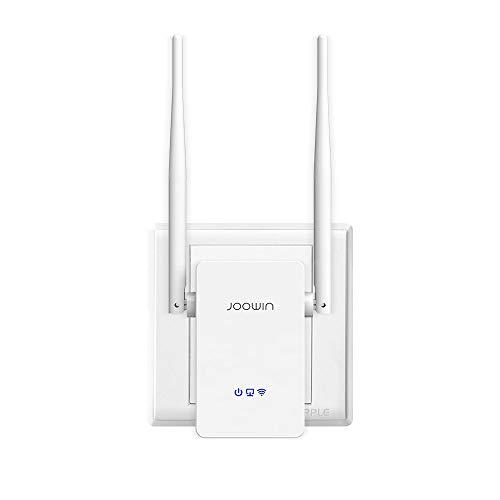 JOOWIN WiFi 中継器300Mbps 2.4GHz WiFi無線LAN 中継機 WPS設定 WiFi範囲拡張器/アクセス ポイント/ワイヤレス ルータ 2.4GHz 11b/g/n に対応 コンセント直挿しモデル