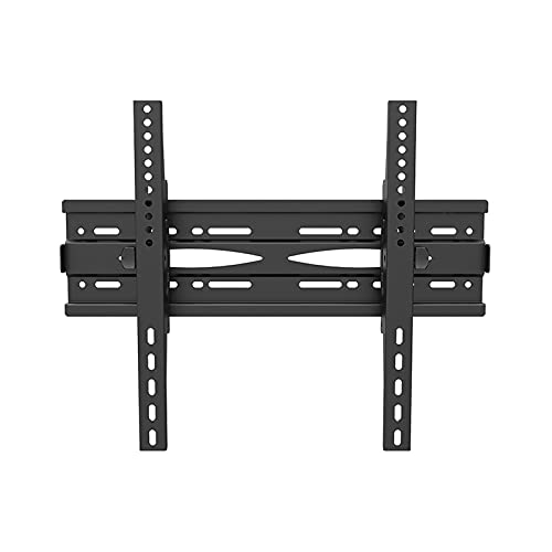 VERDELZ Soporte de Montaje en Pared de TV de inclinación de ángulo Ajustable Tipo Delgado Adecuado para la mayoría de televisores curvos Planos de Plasma OLED LCD de 26-55 32-65 Pulgadas