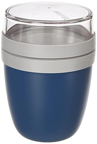 Mepal Lunchpot Ellipse Mini, PP/PCTG, Nordic denim, 300 + 120 ml