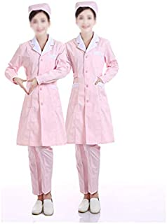 100 /% coton Sanfor certifi/é Oeko-Tex Lot de 2 Uniformes m/édicales unisexe avec haut et pantalon pour les professionnels de la sant/é