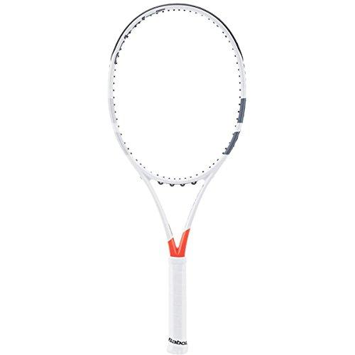 Babolat Pure Strike Team Unstrung Raquetas de Tenis, Hombre, Blanco/Rojo, 3
