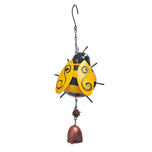 Nirmon Three-Dimensional Bells Wind Chimes Bedroom Wrought Iron Decoration Wind Chimes Ornaments Crafts A