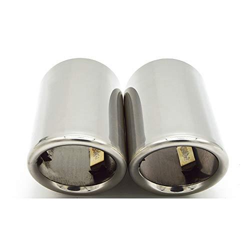 JNSMQC Cubierta de tubo de silenciador de punta de escape de acero...