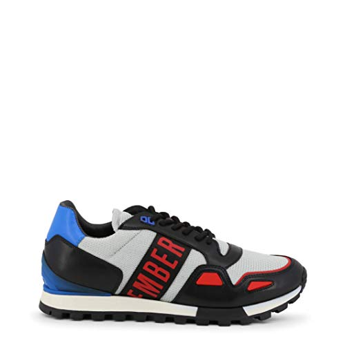 Bikkembergs Scarpe Basse Sneakers Uomo Grigio (Fend-ER_2232)