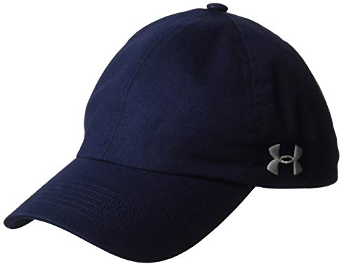 Under Armour Womens Team Armour Cap, Midnight Navy (410)/White, One Size Fits All