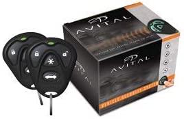 Avital 4105L Avistart Remote Start with two 4-button Controls