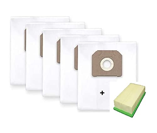 5x Staubbeutel Filtersack und Faltenfilter für Bosch GAS 35 L/M SFK/AFS/AFC