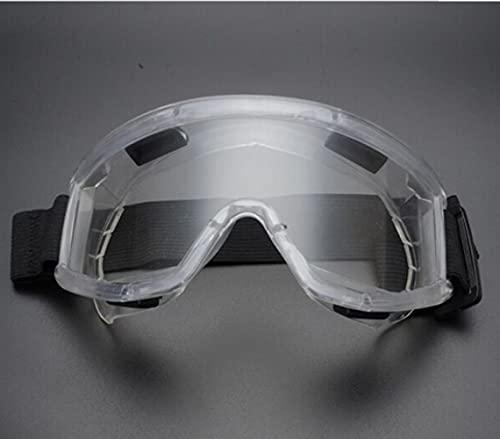 UKKD Gafas Moto Gafas De Seguridad Gafas Deportivas Al Aire Libre Motocicleta Parabrisas De Arena Dust Ski Goggles Gafas Transparentes Accesorios para Automóviles-A