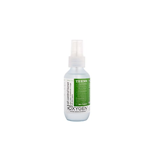 Oxygen Teen    Teen Öl kontrollierendes Gesichtswasser mit Spirulina und Mandarine für alle Hauttypen 100ml