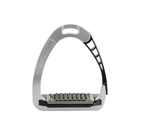 Acavallo Unisex's Aluminium Arena Safety Stirrup Silver, 12cm