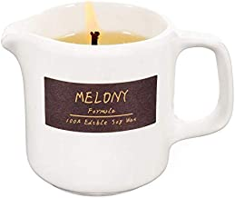 MELONY Massage Candles Natural Edible Soy Lecithins Moisturizing SPA, Skin Treatment, Coconut , 2.82oz