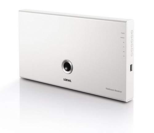 LOEWE Individual Sound Multiroom Receiver 75W weiß–AV-Receiver (75Watt, AAC, FLAC, MP3, WAV, WMA, 2W, 1kg)