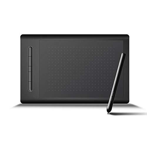 그래픽 태블릿 LETSKETCH 드로잉 태블릿 디지털 태블릿 5 단축키 아티스트 디자이너 아마추어를위한 최고의 선물(8192 레벨 압력)