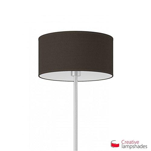 Creative lampshades lampenkap cilinder terrabruin jute Amerikaans F10 Durchmesser 35cm - H. 22cm