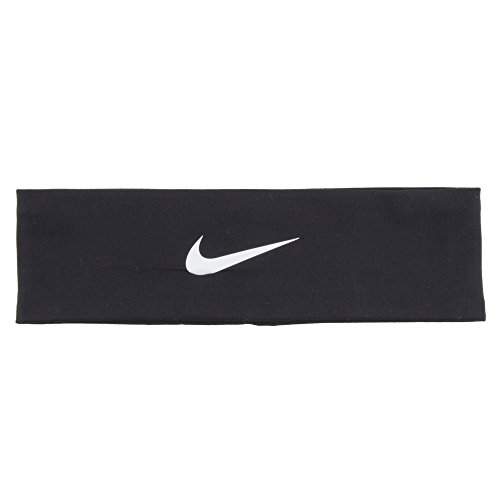 Nike Fury Headband, Black, 2.0(OSFM, Black/White)