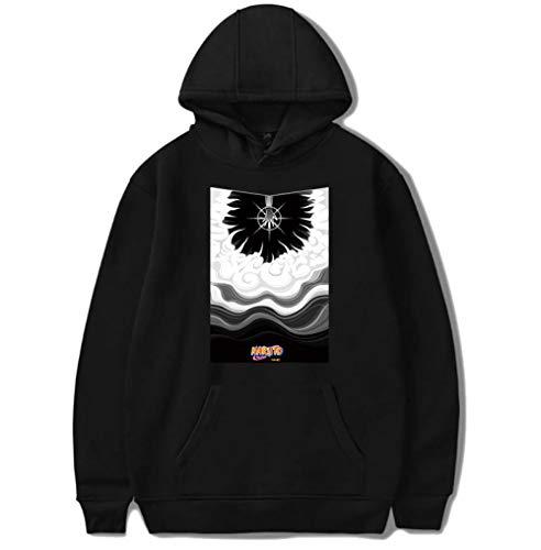 Thimen heren pullover Levis Naruto Naruto sweatshirt Anime Stripe Japanse tekening sweatshirt lange mouwen met capuchon Casual