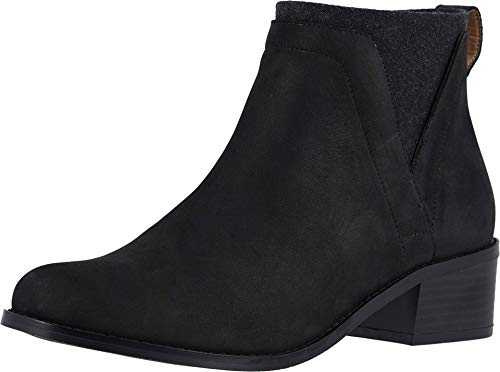 Vionic Women's Hope Joslyn Ankle Boots - Ladies Waterproof Leather Upper Boots with Concealed Orthotic Arch Support Black 7 M US