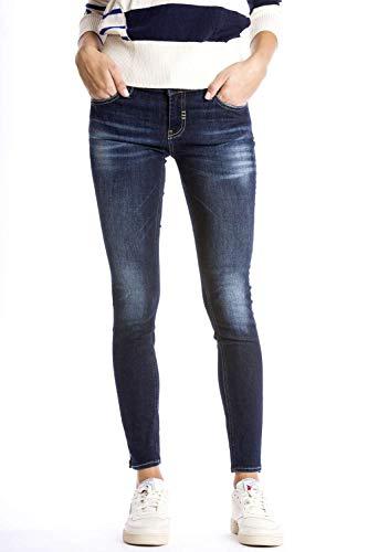 Meltin'Pot - Jeans Milli per Donna, vestibilità Skinny, Vita Bassa IT 45