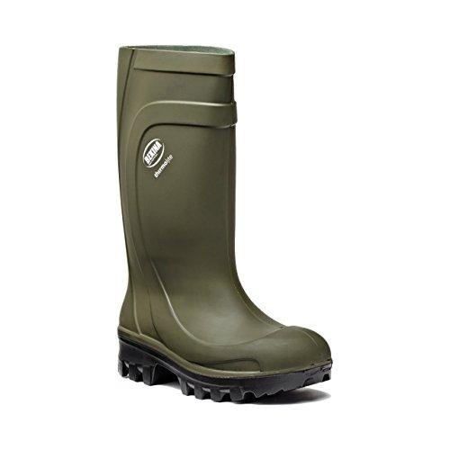 Dickies Thermolite Wellington - Botas de Seguridad (Talla 7), Color Verde