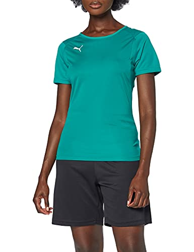 PUMA Liga Training Jersey W Camiseta, Mujer, Pepper Green/White, S