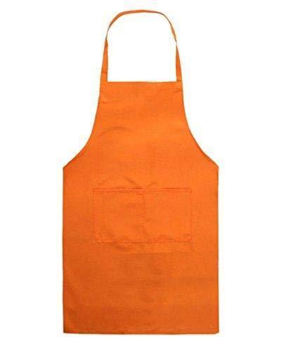 Depory Kinder Schürzen Kochschürze Kinder Backschürze Bastelschürze Gartenschürze Malschürze Orange