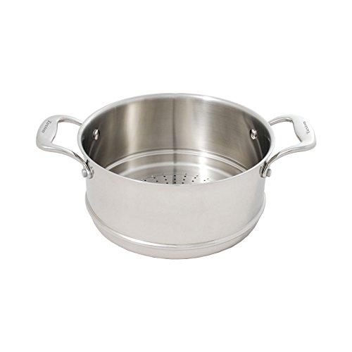 Tuxton Home Concentrix, Steamer, Silver