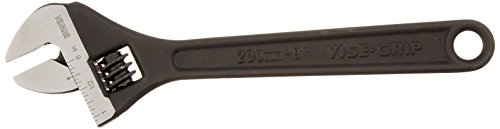 IRWIN Adjustable Wrench, SAE, 8-Inch (1913186)