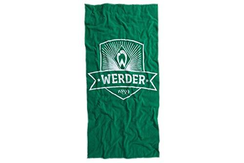 SV Werder Bremen, Badehandtuch, Strandtuch, Handtuch Wappen in 90x180 cm