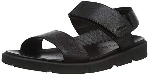 Geox U XAND 2S B, sandali. Uomo, Nero, 46 EU