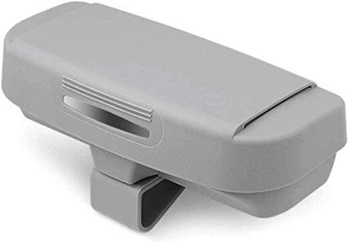 YOUYOUNX, para Caja de Almacenamiento Caja de Gafas de Coche Caja de Almacenamiento de Gafas de Sol Caja de Almacenamiento de Gafas Caja Especial de Gafas de Coche, para Seat Leon-Gris