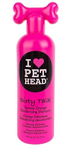 PET HEAD Dirty Talk Yummy Orange Shampoo, 16.1 oz