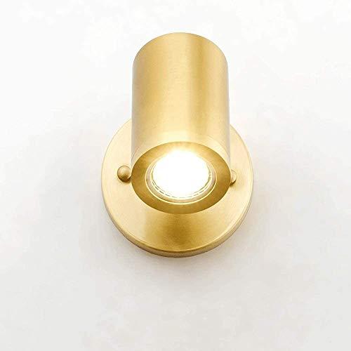 ZHLFDC Simples luces de la pared, todo el cobre focos, Pasillo, Pasillo, dormitorio, de noche, las luces de pared del balcón, decoración del hogar, de múltiples capas anti-Rust tratamiento.