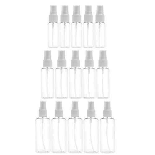 dailymall 15pcs Flacon Spray Vide 30ml 50ml 100ml Bouteille de Spray Vide Pulvérisateurs Contenant Liquide pour Cosmétique Voyage