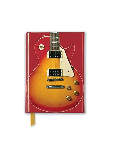 Gibson Les Paul Guitar, Sunburst Red (Foiled Pocket Journal)