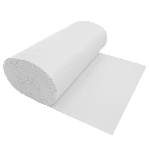 Nu-Source Inc. Premium Wool Blend Felt White 1001-72' X 1YD