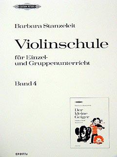 DE KLEINE GEIGER 4 - gearrangeerd voor viool [noten / Sheetmusic] Component: STANZELEIT BARBARA