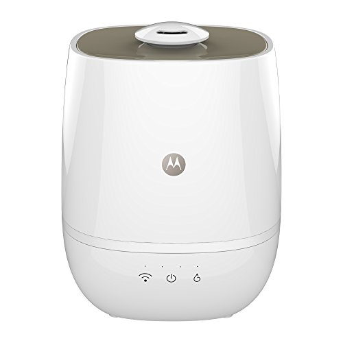 Motorola Smart Nursery Humidifier + – Connected Humidifier with Air and Water Purification
