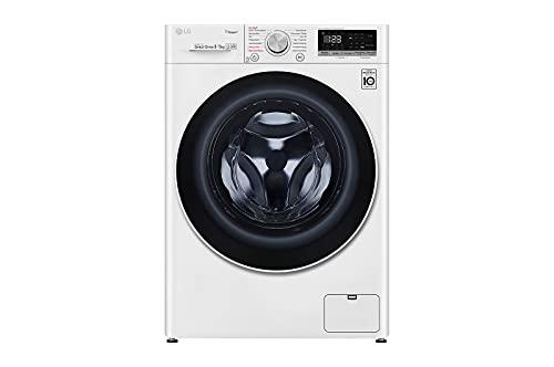LG V4WD85S1 Waschtrockner - 8 kg Trocknen - Weiß, 1400 U/Min