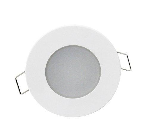 Digilamp 57-8265-5W-WH-IP65 Lámpara downlight LED, Blanco