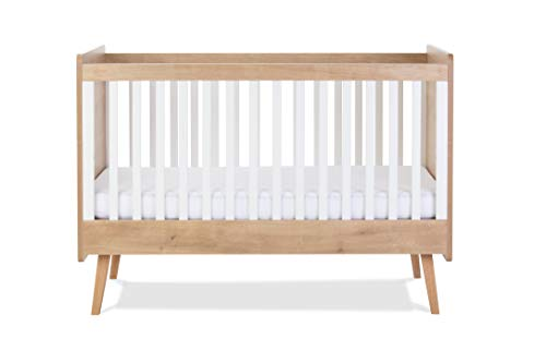 Silver Cross Westport Cot Bed - Convertible Baby and Toddler Bed with 3 Base Heights