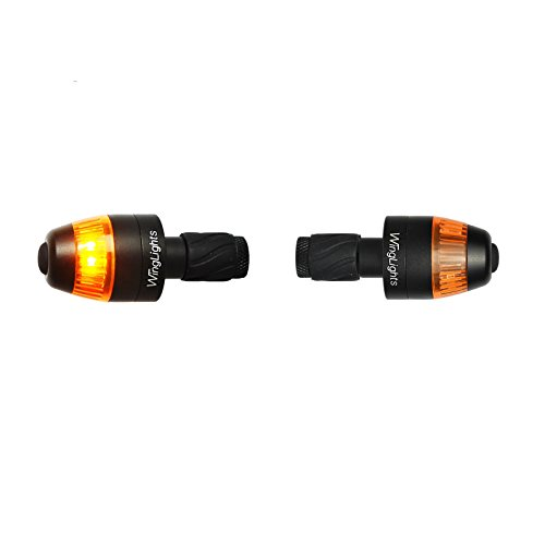 CYCL WingLights Mag V 3.0 - Bicycle Turning Signals/Blinkers for Bike (Black)