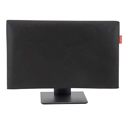 ROTRi maßgenaue Staubschutzhülle für Monitor - schwarz. mit optionaler Aussparung. Made in Germany